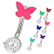 Clip-on Brooch Watch Nurse Pendant Hanging Butterfly Watches Pocket Watch New