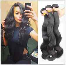 Brazilian Peruvian Virgin Hair 3 Bundles Body Wave Weave Human Hair Extensions
