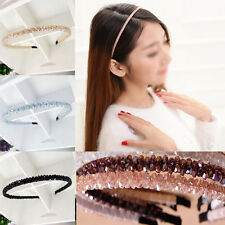 Fashion Women Lady Girls Chic Bead Crystal Head Headband Head Piece Hair Band