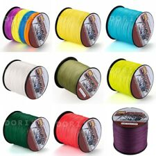 100M/109yds 13Colors 6LB-100LB Super Strong Dyneema Braided Sea Fishing Line