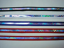 """5 yds of Bedazzle 1/2"""" & 5/8"""" Wide Offray Grosgrain Ribbon - 4 Assorted Colors"""