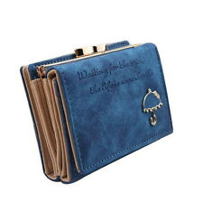 Trendy Leisure Graphic Letter Print Wallets Candy Color Holders Coin Purses