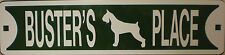 Golden Retriever Dog Custom Personalized Street Sign Pet Name Great Gift Idea!