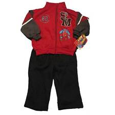 New Ultimate Marvel Heroes Spiderman Boys Fleece Outfit Jacket Pants 2T-4T