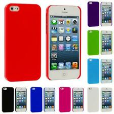 Ultra Thin High Gloss Solid Hard Slim Back Cover Case for Apple iPhone 5 5G