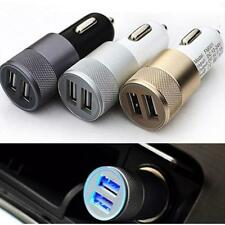 2 ports USB car charger adapter power Fit iphone6/6s/5 iPod/Ipad Samsung