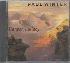 Paul Winter CANYON LULLABY CD ~ Excellent USED Condition