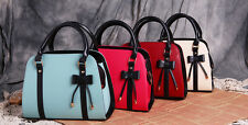 Fashion Women Lady Leather Messenger Handbag Shoulder Bag Totes Purse