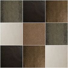 "Faux Leather Vinyl Fabric Marine Animal Skin Lizard Upholstery 54"" Width Fabric"