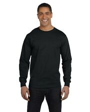Hanes ComfortSoft Heavyweight Long Sleeve T-Shirt 5286 Size S-3XL