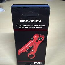 ITC 22-10155 One-Step Cable Stripper For 18 And 24Awg OSS-18/24
