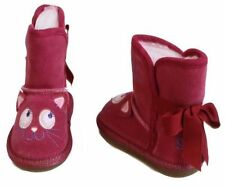 New Girl's Toddlers Skechers Cuddlicious Winter Slip On Boots  (88640N)  (3-B6)