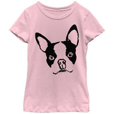 Lost Gods Boston Terrier Dog Girls Graphic T Shirt