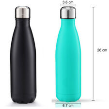 500ml Vacuum Insulated Flask Thermal Thermos Sports Chilly Water Bottle Hot/Cold