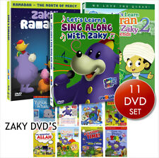 Zaky - Islamic Childrens Best Selling DVD Series -Lets Learn Quran Time to Pray