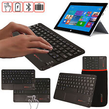 Slim Wireless Bluetooth UK Keyboard with Touchpad for Microsoft Surface Pro 4