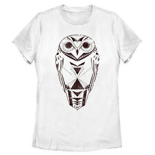 Lost Gods Wise Owl Sketch Womens Graphic T Shirt