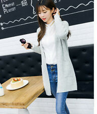 Women's Knitted Cardigan Sweater Ladies Winter Warm Jacket Coat Outwear Clothes