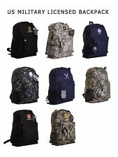 US Military Official Licensed Army, Air Force, Navy, Marines, BACKPACK