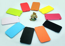 Flip Leather Battery Back Hard Sim Case Cover For Samsung Galaxy Note 2 II N7100