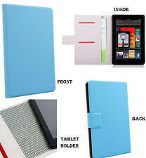 Amazon Kindle Fire Fitted Folio Cover Case w/ Credit Card Slots