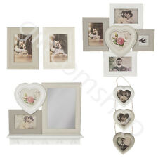 Vintage Style Photo Frame Multi Picture Frame Shabby Chic Heart Photo Frame