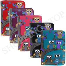 Fashion New Womens Girls Owl Zip Small Coin Purse Ladies Wallet Card Holder