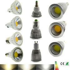 6W 9W 12W 15W COB LED Spot Light Bulb Lamp E27 E14 GU10 MR16 Dimmable Spotlight