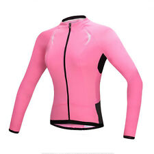 Santic Women's Cycling Jersey Outdoor Sport Bicycle Long Sleeve Bike Jacket