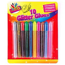 Artbox Glitter Glue & Glue pens - Assorted Colours - Children Craft Fun