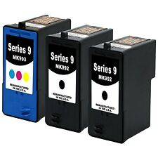 3-PK Dell MK992+MK993 Print Ink Cartridges for Dell 926