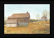 Ma and Pas Place John Jones 12x18 Rustic Country Barn Framed Art Print Picture