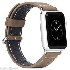 GENUINE HOCO Genuine Leather Watch Band Wristband Strap for Apple Watch 38mm