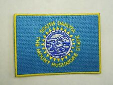 South Dakota State Flag Seal The Mount Rushmore State Embroidered Iron On Patch