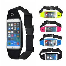 Waterproof Running Waist Pouch Fanny Pack Camping Hiking Bag Cell Phone 4.7/5.5'