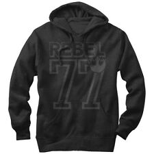 Star Wars Rebel 77 Mens Graphic Lightweight Hoodie