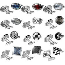 CUFFLINKS Classic Elegant & Casual Accessories Set Men's Suit CHRISTMAS GIFT
