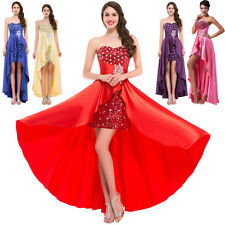 Wedding Bridesmaid Dress Long Party Evening Prom Gown Plus Size10 12 14 16 18 20