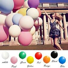 8 Color 36 Inch Giant Big Balloon Latex Birthday Wedding Party Decoration