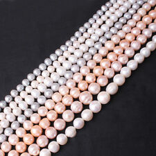 Natural Freeform Freshwater Pearl Gemstone Beads For Jewelry Making Strand 15""