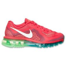 Nike Air Max 2014 Womens Size Running Shoes Red White Green Sneakers 621078 600