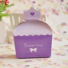50 /100pcs Crown Wedding Favour Boxes Candy Gift Party Sweet Boxes - CB2