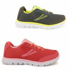 WOMENS LADIES AIR TECH SHOCK ABSORBING FITNESS GYM RUNNING TRAINERS SHOES SIZE