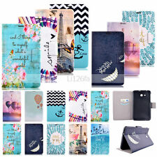 Design Wallet Leather Case Cover For Samsung Galaxy Tab T230/T560/T350/T530/T550