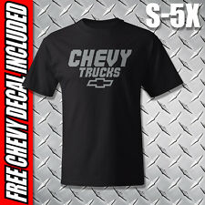 Chevy Trucks T-Shirt //// Black Heavyweight Shirt //// S to 5XL //// Chevrolet