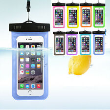 Waterproof Underwater Pouch Dry Bag Case Cover With Lanyard + Armband For iPhone