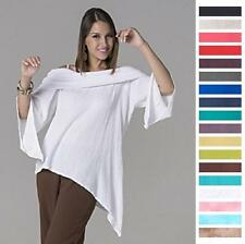 OH MY GAUZE Cotton PILAR Artsy Off-Shoulder Tunic Top 1(S/M) 2(L/XL) 2015 COLORS
