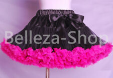 Ruffle Girl Pettiskirt Peticoat Tutu Pageant Party Toddler Kid Size 2T-7 PP002A