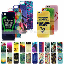 Hot -YX Design Soft TPU Case Cover For Apple iPhone 6S Plus 5S 5C 4S Touch 6 5th