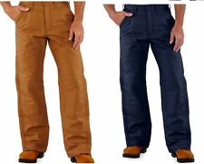 NEW Mens FRB194 Carhartt Canvas Insulated Flame Resistant Quilt Lined Pants NWT